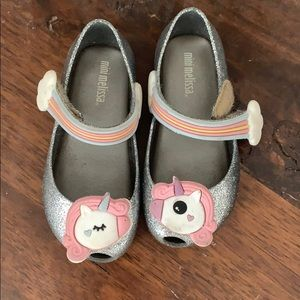 Mini Melissa Unicorn 🦄 shoes